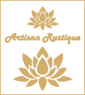 logo artisan rustique rectangulo